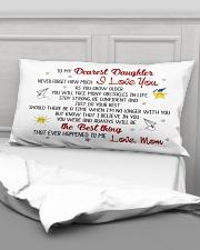 MY DAUGHTER - MOM Rectangular Pillowcase aos-pillow-rectangular-front-lifestyle-03
