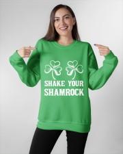 Shake Your Shamrock Crewneck Sweatshirt apparel-crewneck-sweatshirt-lifestyle-front-11