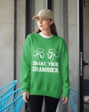 Shake Your Shamrock Crewneck Sweatshirt apparel-crewneck-sweatshirt-lifestyle-front-12