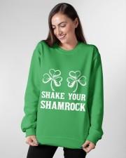 Shake Your Shamrock Crewneck Sweatshirt apparel-crewneck-sweatshirt-lifestyle-front-13