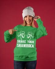 Shake Your Shamrock Crewneck Sweatshirt apparel-crewneck-sweatshirt-lifestyle-front-38