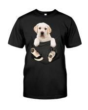 Labrador Pocket Classic T-Shirt front