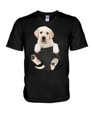 Labrador Pocket V-Neck T-Shirt thumbnail