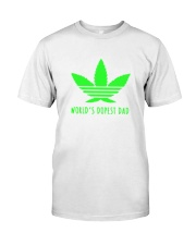 Worlds Dopest Dad Classic T-Shirt front