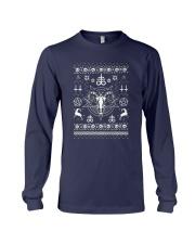 Gothic Satanic Christmas Long Sleeve Tee thumbnail