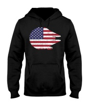 Wars the millennium falcon American flag t-shirt Hooded Sweatshirt tile