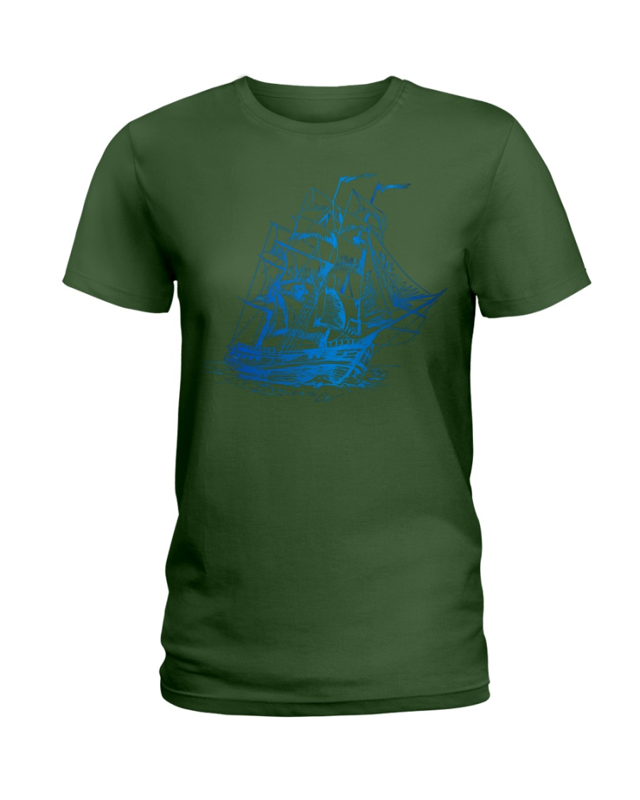 nice on the beach Ladies T-Shirt