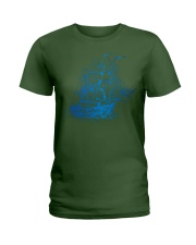 nice on the beach Ladies T-Shirt front