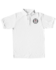 US-CAR FREAKS SWITZERLAND Classic Polo embroidery-polo-short-sleeve-layflat-front