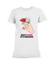 Don't Panic It's Organic Premium Fit Ladies Tee thumbnail