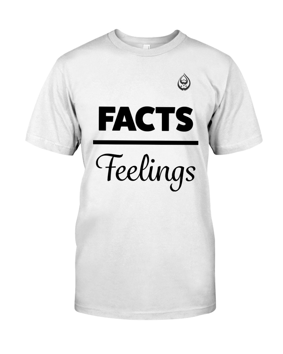 Facts Over Feelings Blk Classic T-Shirt