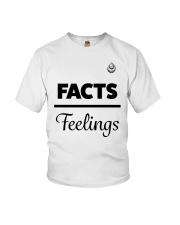 Facts Over Feelings Blk Youth T-Shirt thumbnail