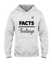 Facts Over Feelings Blk Hooded Sweatshirt thumbnail