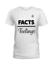 Facts Over Feelings Blk Ladies T-Shirt thumbnail