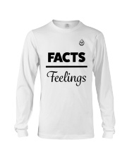 Facts Over Feelings Blk Long Sleeve Tee tile