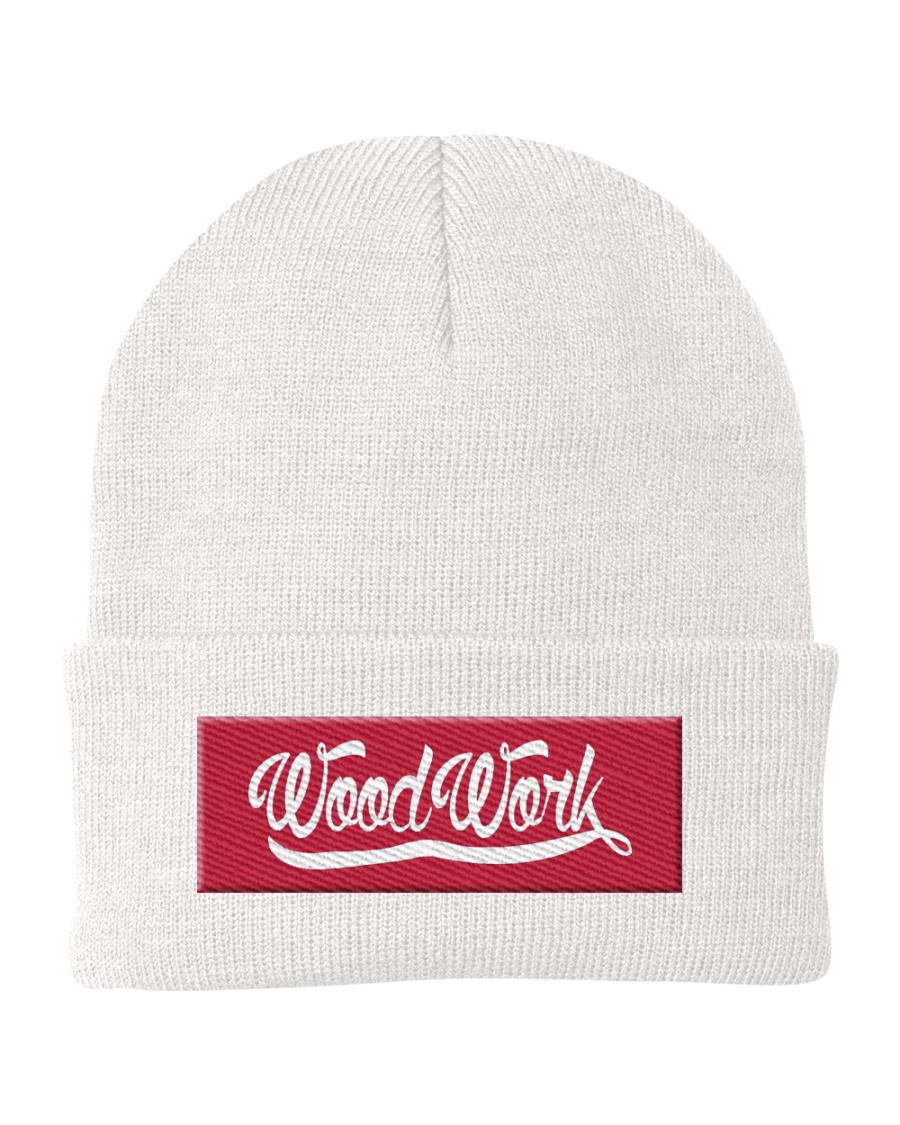 Georgia Red Knit Beanie