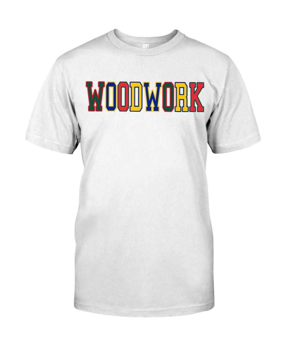 WoodWork ColorPop Premium Fit Mens Tee