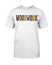WoodWork ColorPop Premium Fit Mens Tee thumbnail