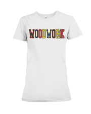 WoodWork ColorPop Premium Fit Ladies Tee thumbnail