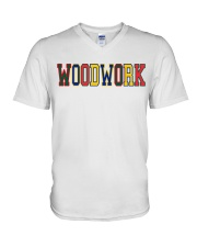 WoodWork ColorPop V-Neck T-Shirt thumbnail
