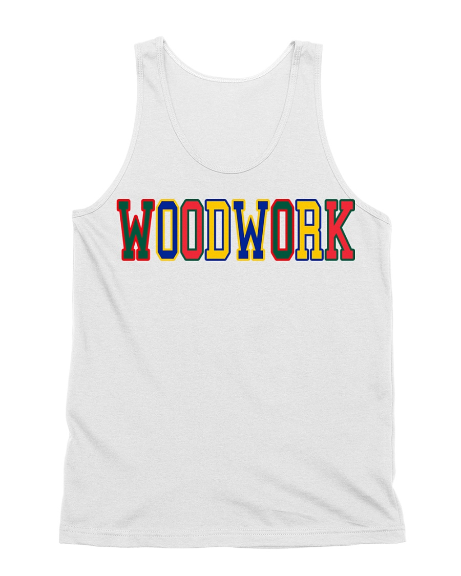 WoodWork ColorPop All-over Unisex Tank