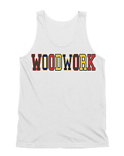 WoodWork ColorPop All-over Unisex Tank front
