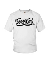 WoodWork Signature Black Letter Youth T-Shirt thumbnail