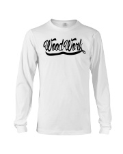 WoodWork Signature Black Letter Long Sleeve Tee thumbnail