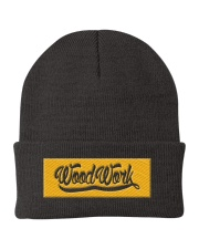 Eagle Gold Knit Beanie front