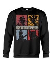 Father Of Cats Shirt Cat Lovers Cat Dad Fabulous G Crewneck Sweatshirt thumbnail