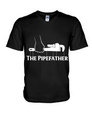 the pipefather V-Neck T-Shirt thumbnail