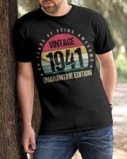 Vintage 1941 Quarantine Edition Birthday Classic T-Shirt apparel-classic-tshirt-lifestyle-front-51