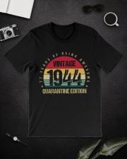 Vintage 1944 Quarantine Edition Birthday Classic T-Shirt lifestyle-mens-crewneck-front-16