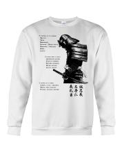 7 5 3 Code of a Warrior Crewneck Sweatshirt thumbnail