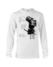 7 5 3 Code of a Warrior Long Sleeve Tee thumbnail