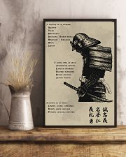7 5 3 Code of a Warrior 11x17 Poster lifestyle-poster-3