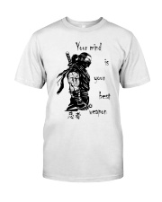 7 5 3 Code of a Warrior Classic T-Shirt thumbnail