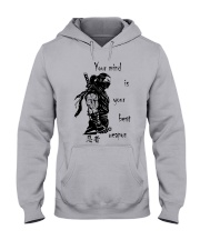 7 5 3 Code of a Warrior Hooded Sweatshirt thumbnail
