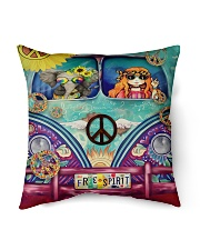 "Hippie Spirit Indoor Pillow - 16"" x 16"" thumbnail"