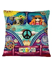 Hippie Spirit Square Pillowcase thumbnail