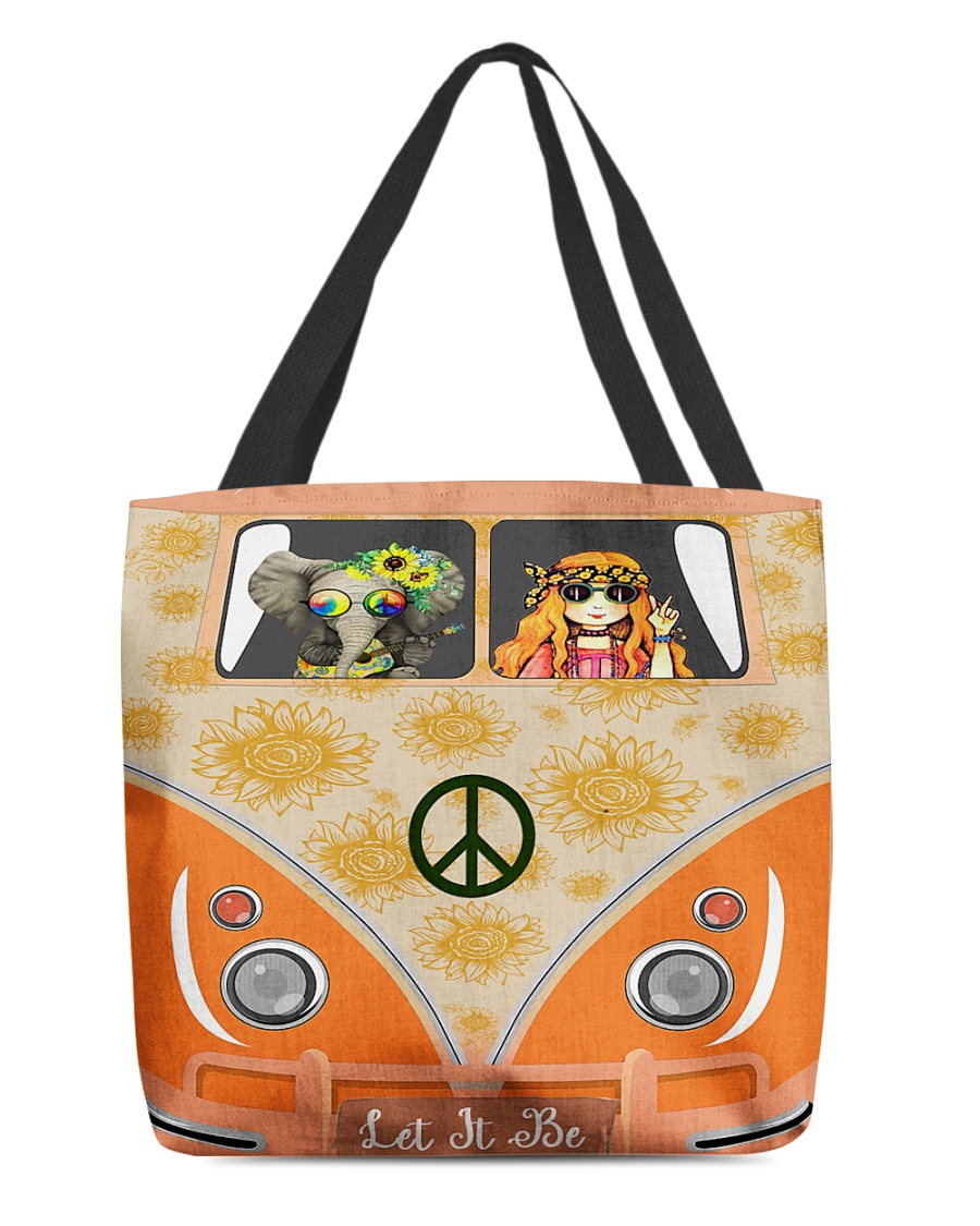 Let It Be All-over Tote