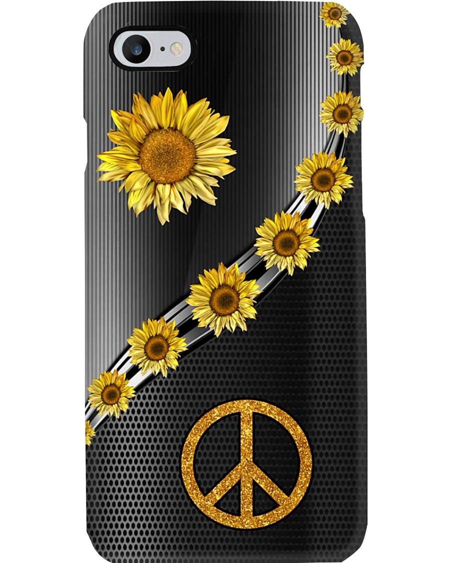 Sunflower Peace Phone Case