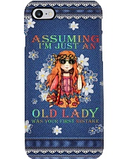 Old LADY Phone Case i-phone-8-case