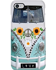 Sunflower Peace Bus Phone Case tile
