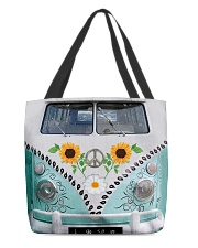 Sunflower Peace Bus All-over Tote back
