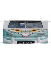 Sunflower Peace Bus Cloth face mask thumbnail