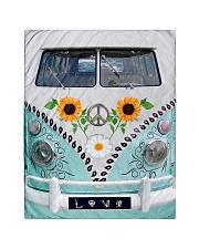 "Sunflower Peace Bus Quilt 40""x50"" - Baby thumbnail"