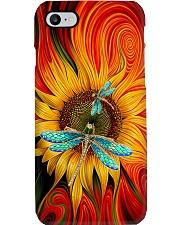 Dragonfly - Sunflower Phone Case i-phone-7-case