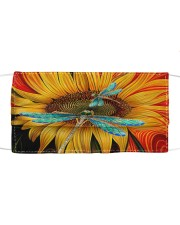 Dragonfly - Sunflower Cloth face mask thumbnail