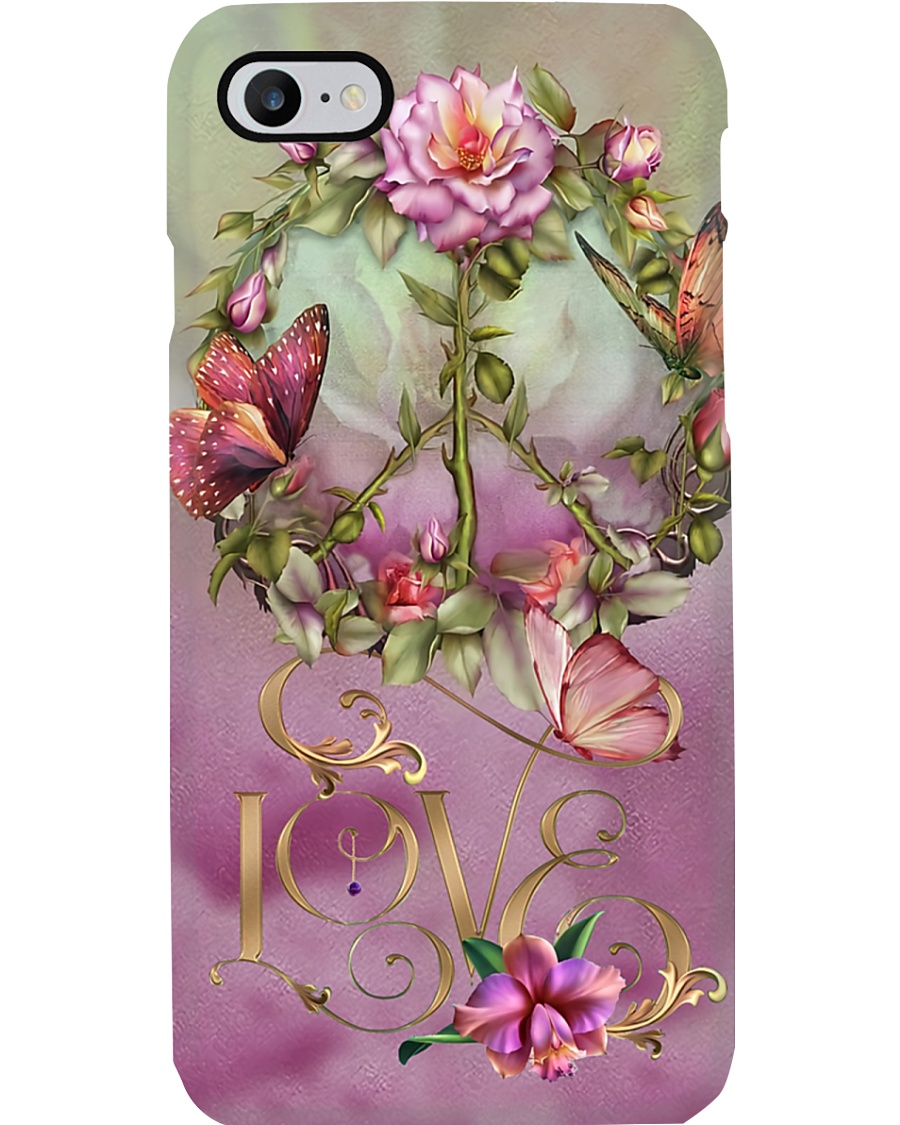 Peace - Butterfly Phone Case